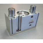 SMC MGQM50-25 Compact Guide Cylinder,Slide Bearing, 50mm Bore, RC Thread,25mm