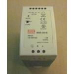 Mean Well MDR-100-48 48 VDC power supply , 100-240 VAC input