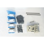 SMC ZZM-SA Lot of 4 ZZM-SA, with brackets and accessories