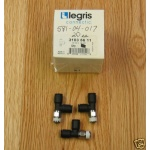 20 Legris T 1/4 x 1/4 x 1/8 NPT pneumatic fitting NEW
