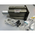 SMC MKA50-20R D-A732 pneumatic air rotary clamp cylinder