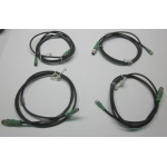 Phoenix Contact 1693089 *Lot of 4* 4POS M12 PLUG-M8 SOCKET 1.5M Adapter Cables