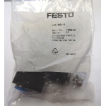 Festo LR-QS-8 8mm pneumatic pressure regulator 153542