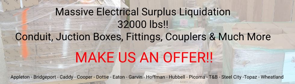 Autovation Electrical Surplus Liquidation